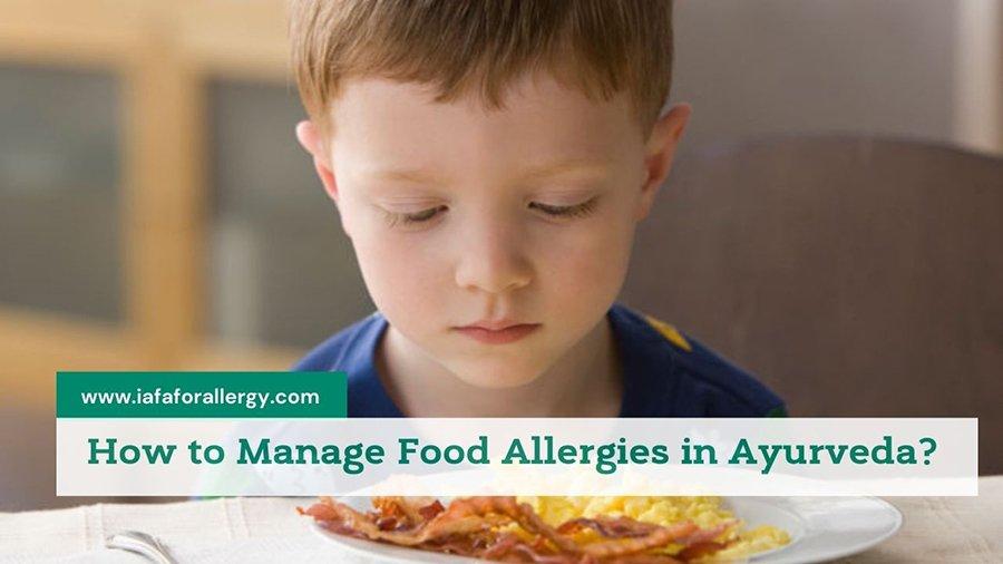 Manage Food Allergies in Ayurveda