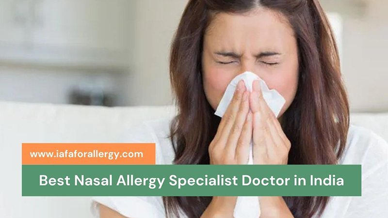 Best Nasal Allergy Specialist Doctor in India - Dr. Sahil Gupta