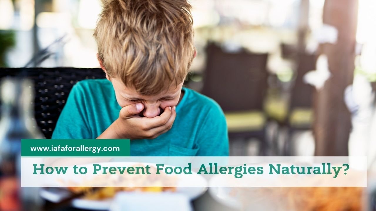 Prevent Food Allergies Naturally