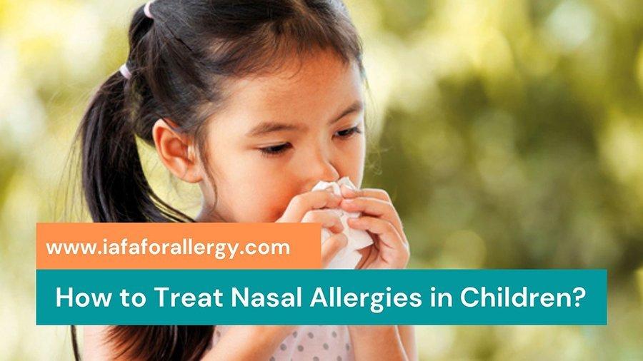 Herbal Remedies for Nasal Allergies in Children
